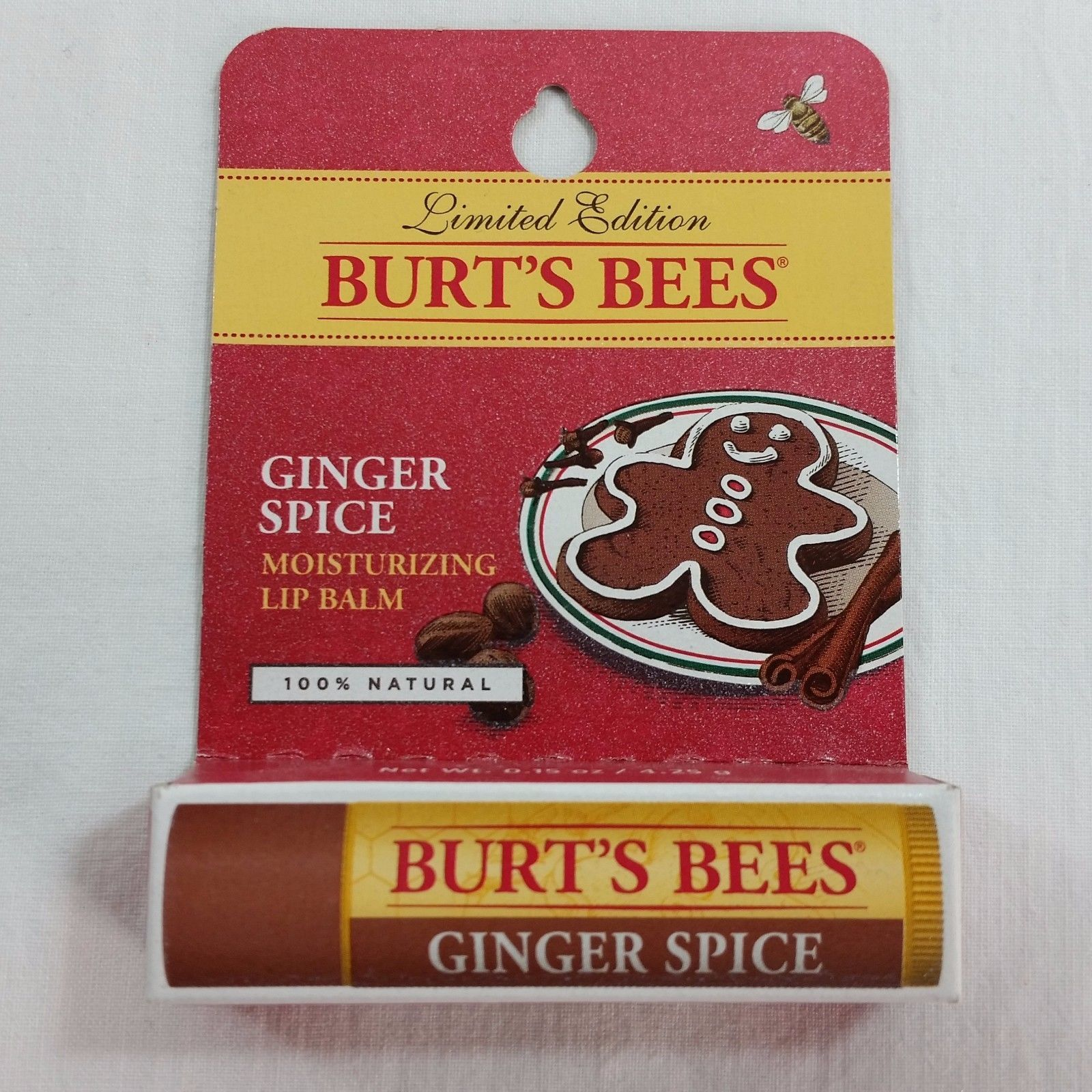 Burts Bees Lot of Ginger Spice Lip Balm x20 Wholesale Limited Edition