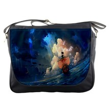 Messenger Bag One Peace Sunny Go Luffy Japanese Pirate In Blue Ocean Ani... - $30.00