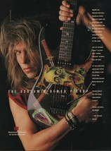 1991 Vintage Magazine Ad Page Seymour Duncan Guitar Pickups George Lynch - $4.47