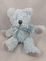 """Demdaco Blue Teddy Bear Plush 8"""" Stuffed Animal toy - $7.95"""