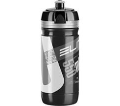 Elite 00914168 Corsa Water Bottle, 550ml, Black/Silver - $171,87 MXN