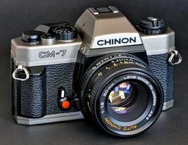 Pentax Chinon CM-7 P3 35mm SLR w 50mm f/1.9 MC ... - $89.00
