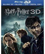 Harry Potter and the Deathly Hallows, Part 1 3D (Blu-ray 3D, Blu-ray, DVD)  - $5.95