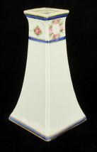 Antique Nippon Hand Painted Hatpin Holder Morimura Bros Pink Roses Garlands - $89.98