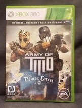 Army of Two The Devil's Cartel Overkill Edition Microsoft Xbox 360 Video... - $7.84
