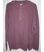 Kennington LTD Classics Long Sleeve Thermal Shirt Mens Size XL Made in B... - $6.95