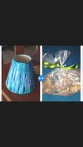 """Decorative Turquoise Ceramic Vase  6"""" with bag of potpourri  - $49.99"""