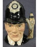 "The London Bobby D6762 Royal Doulton Character Toby Jug Small 4"" 10cm Bi... - $79.95"