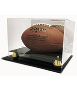 Max Deluxe UV Protected Acrylic Full Size Football Display Case with Mirror - $39.99