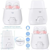 Portable Baby Bottle Warmer Steam Sterilizer - $58.42