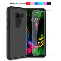 For LG G8 ThinQ Tempered Glass Screen Protector With Phone Case Shockpro... - $17.90