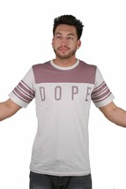 Dope Couture Knockout Football Off-White With Rose Taupe Paneling Jersey Shirt
