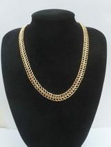 9ct Oro Doble Figura 8 Collar 45.7cm Oro Macizo 7.9 Gramos - $410.61