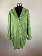 Travel Smith Womens Jacket XL Green Embroidered  - $98.99