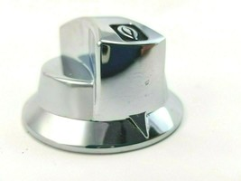 Star Max 502FF  Chrome knob  Starmax Replacement Part Used l - $10.69