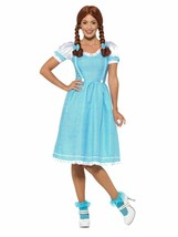 Smiffys Kansas Country Girl Dorothy Dress Adult Womens Halloween Costume... - $27.99