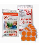 Mosquito Repellent Patch 60-COUNT Resealable Pack All-Natural Non-Toxic ... - $14.99