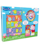 3-in-1 Peppa Pig Wood Activity Center - $31.36