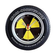 PANDA SUPERSTORE Radiation Protection Logo Tire Shape Wall Clock Fashion... - $33.86