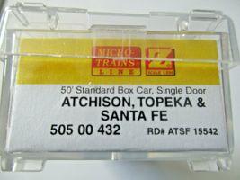 Micro-Trains # 50500432 Atchison, Topeka & Santa Fe 50' Standard Boxcar Z-Scale image 4