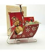 2003 Hallmark Santa's Magic Sleigh Ornament in Box - $8.09