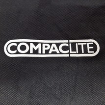Compaclite Carry Bag and Chair Liner Only Black Grey - $11.11