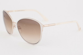 Tom Ford Penelope Ivory / Brown Gradient Sunglasses TF320 32F - $234.22