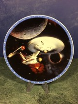 Star Trek U.S.S. Enterprise NCC-1701 Collector's Mini Plate With Easel (Enesco) - $9.90