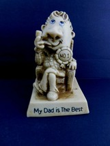 Vintage 1978 Russ Berrie & Co, INC World's Best Dad Figurine 9231  - $7.91