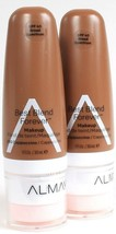 2 Ct Almay 200 Cappuccino SPF 40 Broad Spectrum Best Blend Forever Makeup - $19.99