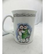 Royal Doulton - Snowman Band bone china cup/mug - made in England, 1988,... - $12.38