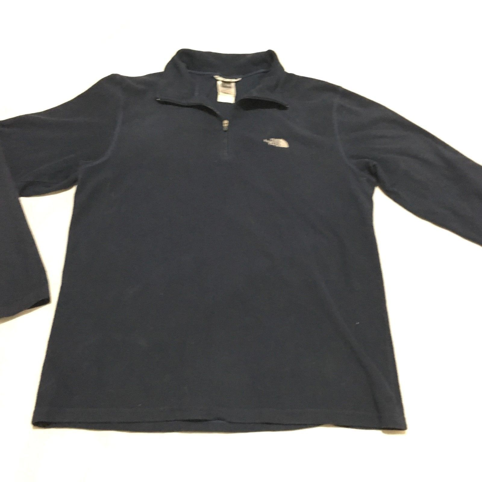 db77730c4 The North Face TKA 100 Men's Blue Fleece 1/4 and 50 similar items