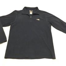 The North Face TKA 100 Men's Blue Fleece 1/4 Zip Lightweight Pullover Si... - $20.40