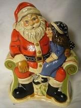 Vaillancourt Folk Art, My Christmas  Wish Santa signed by Judi Vaillancourt image 1