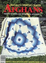 McCall's Creative Crafts Twenty Six Warm & Wonderful Afghans Crochet & K... - $6.27