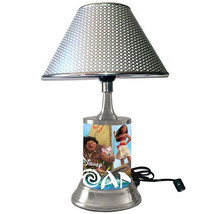 Disney's Moana desk lamp with chrome finish shade - $39.99