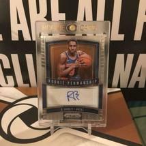 NBA RJ Barrett 2019-20 Prizm Rookie Autograph latest ver RC trading card... - $367.29