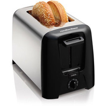 Cool Wall 2 Slice Toaster Extra-wide Slots Auto Shut-off Kitchen Chrome ... - €23,33 EUR
