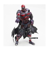 Marvel Universe VARIANT PLAY ARTS KAI MAGNETO PVC Action Figure Model Toy 25cm - $85.99