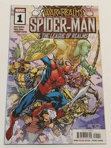War of the Realms Spider-Man & the League of the Realms #1 Marvel Comic Book! - $5.59