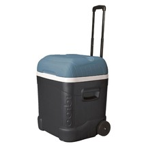 Portable Chest Cooler 70 Quart 2 Wheeled Functional Outdoor Tailgating S... - $65.08