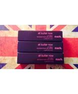 Avon Mark Lot 3 All Butter Now Lip Treat Fired Up Razzmatazz and Pop Tar... - $19.79
