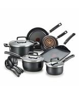 Signature Nonstick Dishwasher Safe Cookware Set, 12-Piece, Black - $262.99+