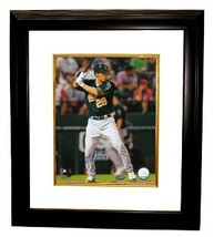 Kurt Suzuki signed Oakland A's 8x10 Photo Custom Framed - $68.00