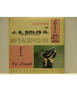 EXITOS DE J.A. SOLIS G. LP - FREE SHIPPING - $14.03