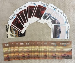 54 Piece New Old Stock Vintage Lot Chevrolet Chevy Brochures 1978 & 1979 - $40.31