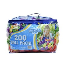 Sunny Days Entertainment 200 Ball Pack – Phthalate and BPA Free Crush Proof - $42.40