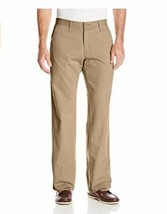 Lee Men's Weekend Chino Straight Fit Flat Front Pant 38X30 - $24.69