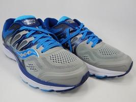 Saucony Omni 16 Size 10 M (B) EU 42 Women's Running Shoes Gray Blue S10370-1 - $96.86