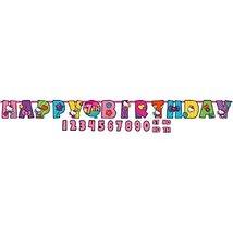 Jumbo Add-An-Age Letter Banner   Hello Kitty Rainbow Collection   Birthday, 10 1 - $7.87